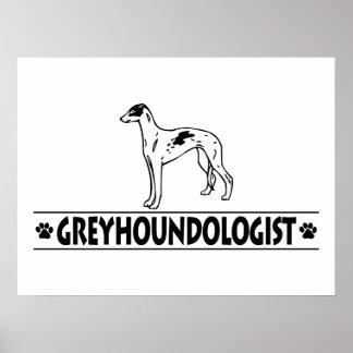 Humorous Italian Greyhound Poster