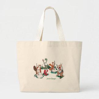 Humorous Jammin Banjo Animal Players Carry Bag