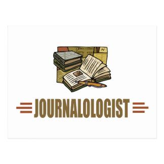 Humorous Journal Journaling Postcard