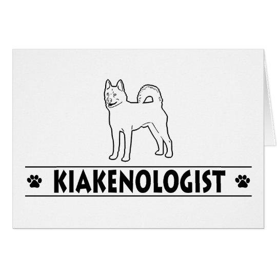 Humorous Kai Ken Card