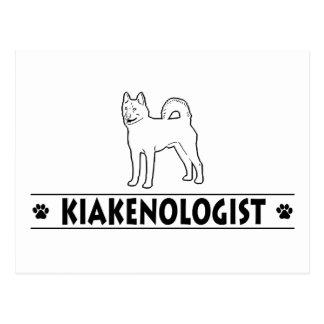 Humorous Kai Ken Postcard