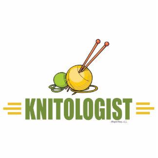 Humorous Knitting Cutout