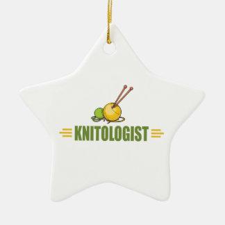 Humorous Knitting Ornaments
