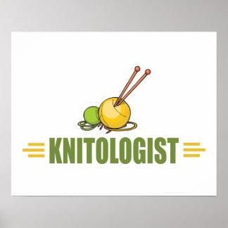 Humorous Knitting Posters