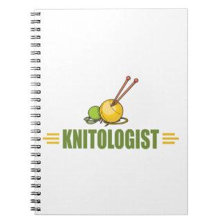 Humorous Knitting Spiral Notebook