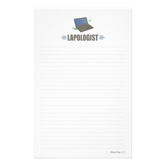 Humorous Laptop Computer Personalized Stationery