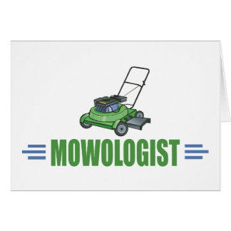 Humorous Lawn Mowing Card