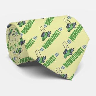 Humorous Lawn Mowing Neck Tie