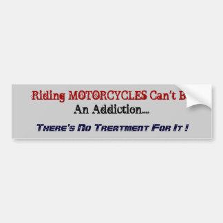 Humorous Motorcycle Bumper Sticker. Bumper Sticker