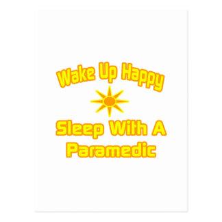 Humorous Paramedic Shirts and Gifts Post Card