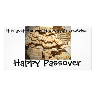 humorous Passover card Photo Card