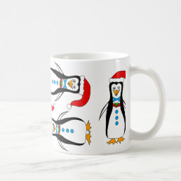 Humorous Penguin Design on Coffee/Tea Mug