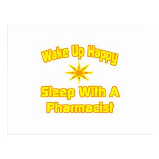 Humorous Pharmacist Shirts and Gifts Postcard
