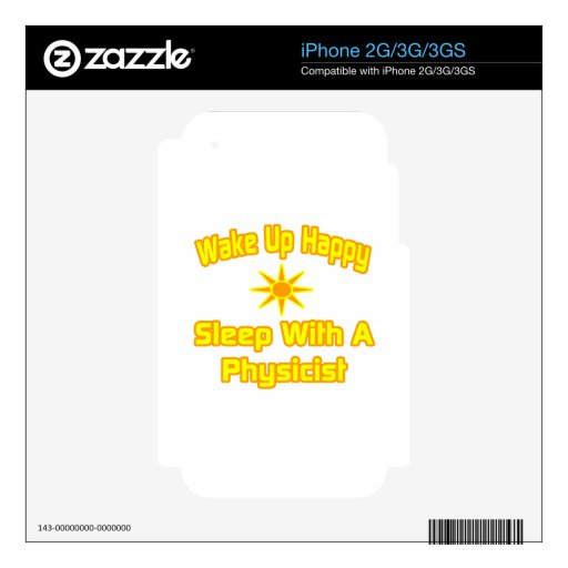 Humorous Physicist Shirts and Gifts Skins For iPhone 3
