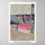 Humorous picture by Kobayashi,Kiyochika Poster