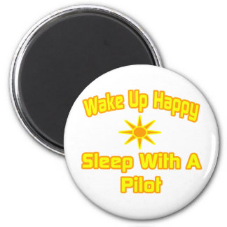 Humorous Pilot Shirts and Gifts 2 Inch Round Magnet