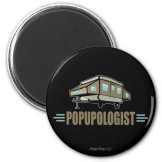 Humorous Pop Up Camper Refrigerator Magnets