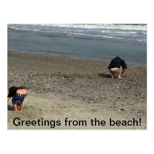 Humorous postcard