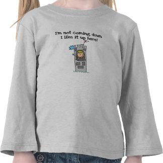 Humorous Princess in Tower T Shirts