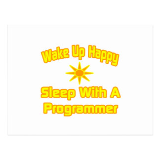 Humorous Programmer Shirts and Gifts Postcard