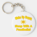 Humorous Prosthetist Shirts and Gifts Key Chain