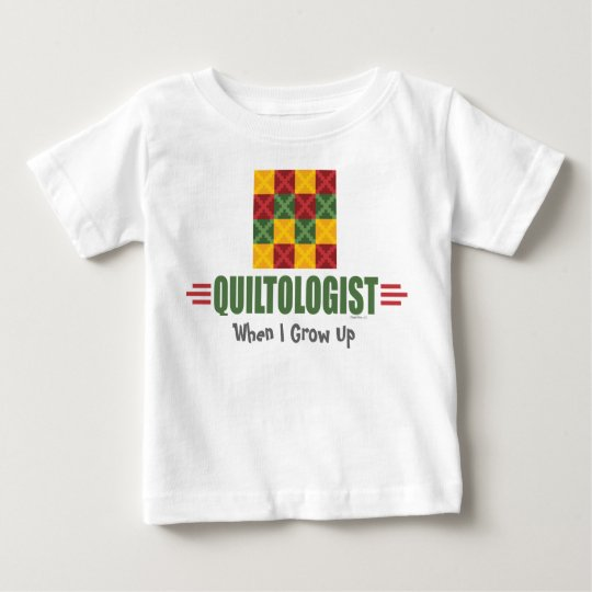 Humorous Quilting Baby T-Shirt