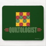 Humorous Quilting Mouse Pad