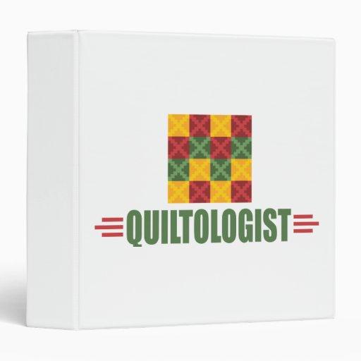 Humorous Quilting Vinyl Binders