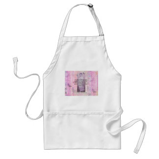 Humorous quote by JANE AUSTEN about people Adult Apron