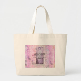 Humorous quote by JANE AUSTEN about people Bags