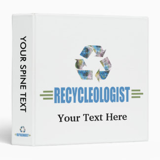 Humorous Recycling Binder