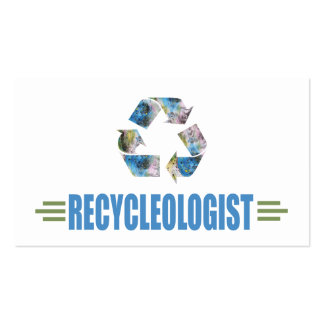 Humorous Recycling Business Card