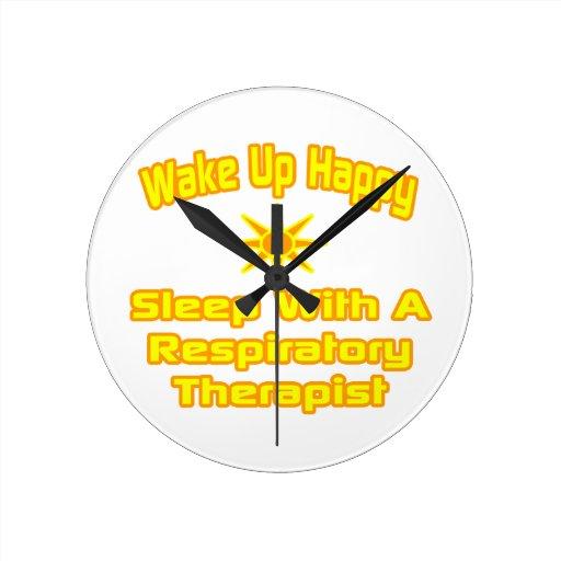 Humorous Respiratory Therapist Gifts Round Wall Clock