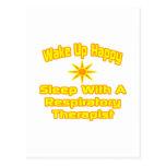 Humorous Respiratory Therapist Gifts Postcard