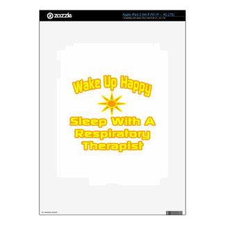 Humorous Respiratory Therapist Gifts iPad 3 Skin