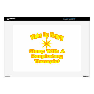 Humorous Respiratory Therapist Gifts Decal For Laptop