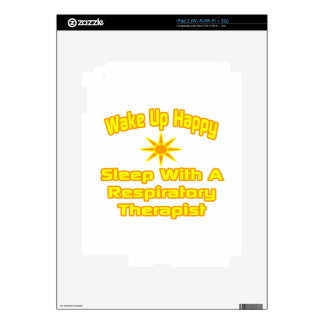 Humorous Respiratory Therapist Gifts iPad 2 Decal