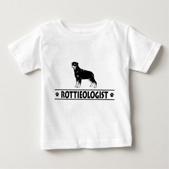 Humorous Rottweiler Baby T-Shirt