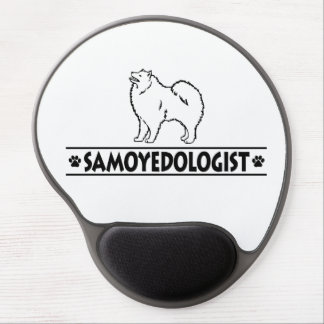 Humorous Samoyed Gel Mouse Pad