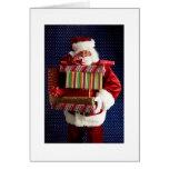 Humorous Santa Claus Greeting Card