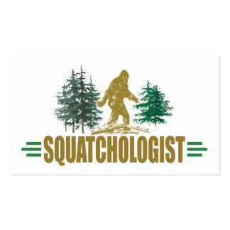 Humorous Sasquatch, Bigfoot Business Card