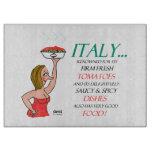 Humorous Saucy Italian Ladies Cutting Board