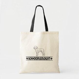 Humorous Schnoodle Tote Bag