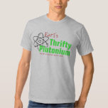 Humorous Science Nuclear Plutonium T-shirt funny