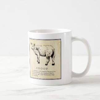 Humorous Scientific Illustration - Shoop (Sheep) Coffee Mug