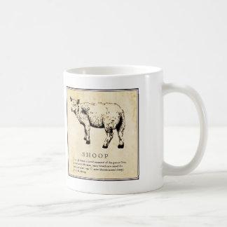 Humorous Scientific Illustration - Shoop (Sheep) Classic White Coffee Mug