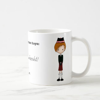 Humorous Scottish Dialect Scotsman Cartoon 4 Coffee Mug