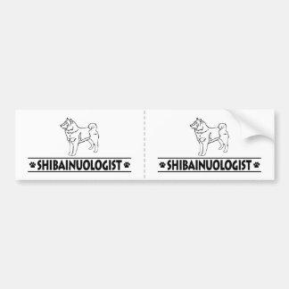 Humorous Shiba Inu Car Bumper Sticker