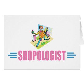 Humorous Shopping Card