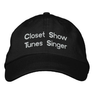Humorous Show Tunes Embroidered Hat
